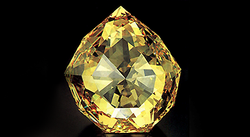 Der Florentiner Diamant: berühmter gelber Diamant