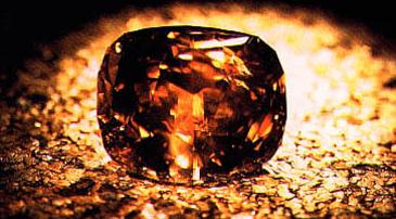 The Golden Jubilee Diamond_ berühmter brauner Diamant
