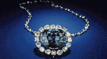 The Blue Hope: Berühmte blaue Diamanten