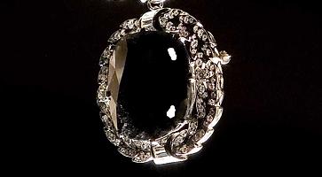Der Black Orlov: Berühmte schwarze Diamanten