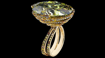 Der Fancy Dark Gray Green: Berühmte chamäleon Diamanten
