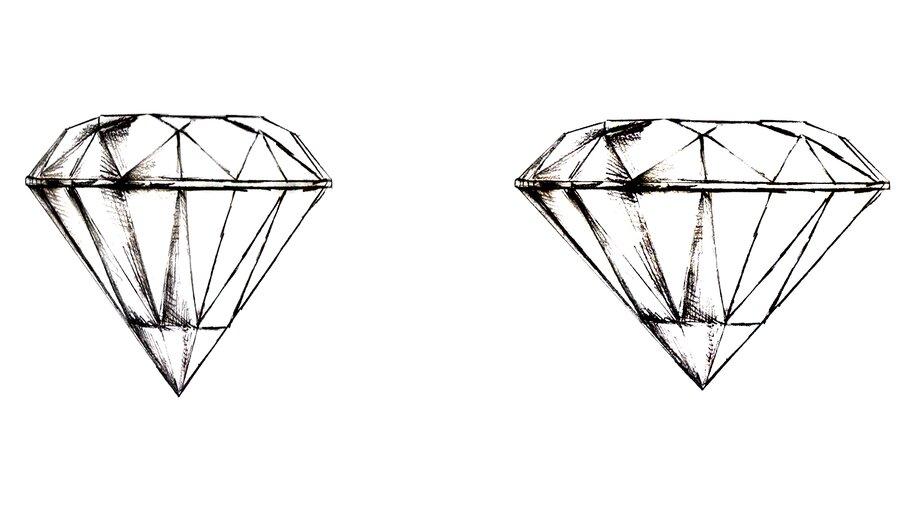 Der Schliff verrät bereits wie gut die Proportionen des Diamanten sind.