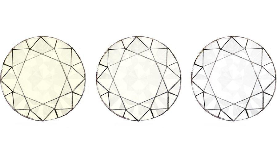 Farbe Ein farbloser Diamant (D, E, F, G, h)ist preisintensiver als ein nahezu farbloser Diamant (I, J).