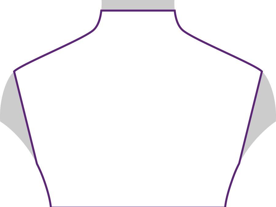Beispielansicht Rollkragen: geeignet für lange Halsketten