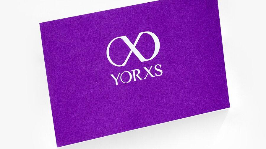 Beispielhafte Abbildung eines Gutscheins von Yorxs