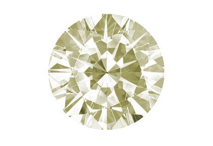 Beispielhafte Abbildung, Gelber Diamant, Faint