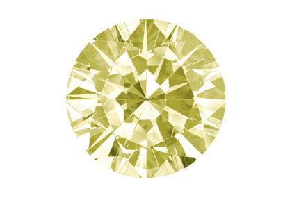 Beispielhafte Abbildung, Gelber Diamant, Light