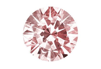Roter Diamant beispielhafte Ansicht