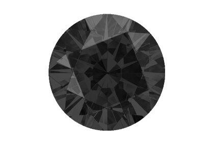 Schwarzer Diamant beispielhafte Ansicht