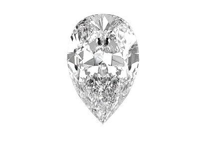Beispielhafte Ansicht eines Tropfen Diamanten