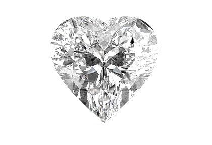 Herz Diamant beispielhafte Ansicht