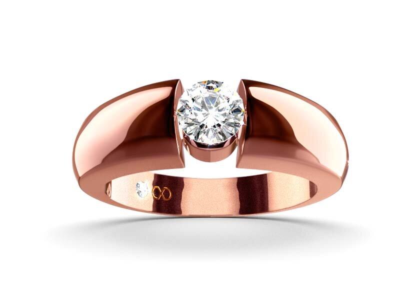 Ring Alemonia in Gelbgold