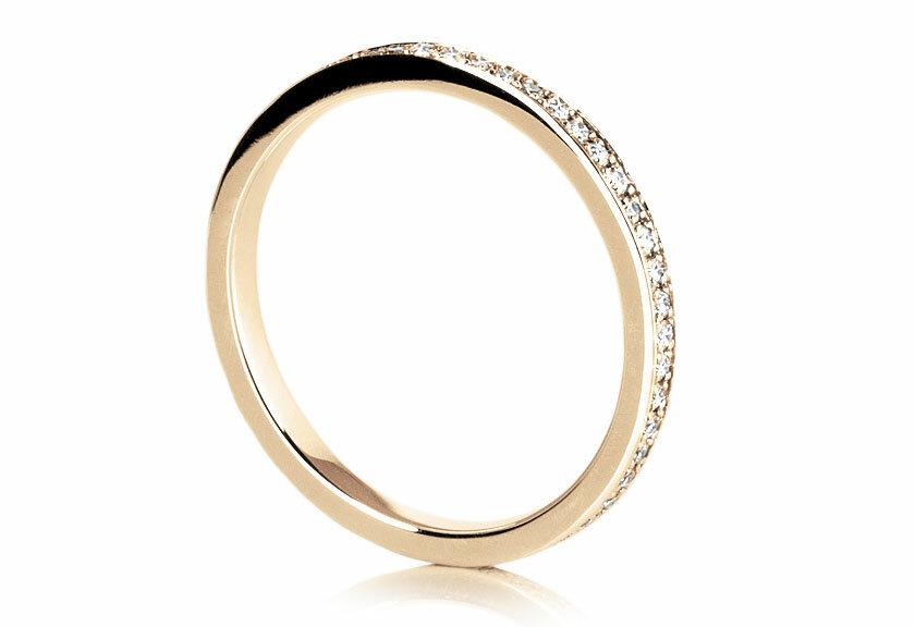 Eternity Ring Eterna in 750er Gelbgold